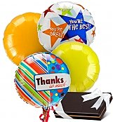 Balloons & Chocolate: Thank You Balloons & Chocolates-4 Mylar