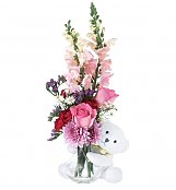 Flower Bouquets: Bear Hug for Mom