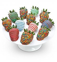 Desserts Confections Gifts: Happy Birthday Chocolate Covered Strawberries