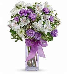 Flower Bouquets: Lavender Laughter