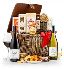 Wine Baskets: Napa Valley Wine Tasting Hamper