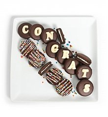 Desserts Confections Gifts: Chocolate Covered Congrats Oreo® Cookies