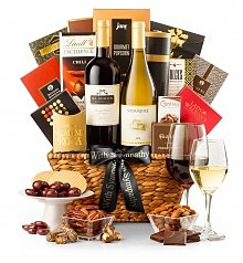 Wine Baskets: Expressions of Sympathy Wine Basket