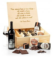 Luxury Wine Baskets: Sommelier's Fine Wine Trio Crate
