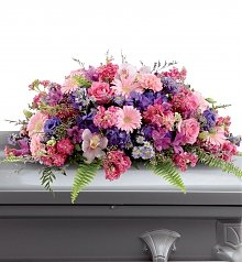 Funeral Flowers: Glorious Garden Spray