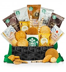 Coffee & Tea Gift Baskets: Starbucks<sup>®</sup> Coffee & Cookies Delight
