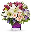 Flower Bouquets: Garden Lily & Rose Bouquet